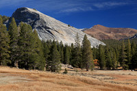 Lembert Dome overlooks Tuolumne Meadows.