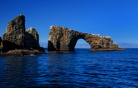 Arch Rock, symbol of Anacapa and the National Park.