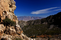 View down into Owens Valley