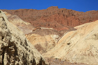 Golden Canyon view of Red Cathedral