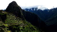 Terraces and Huayna Picchu
