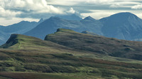 Cuillin Hills  in distance