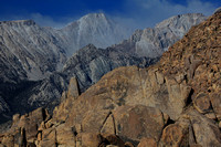 Alabama Hills rock formations