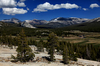 Tuolumne Meadows from Pothole Dome