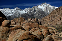 Sierras and the Alabama Hills