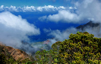 Viewpoint above Kalalau Valley
