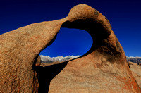 Mobius Arch frames Mt. Whitney